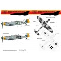 [HAD] Decalque 032-034 Messerschmitt Bf 109 G-10/U2 - Set 2 Escala 1/32
