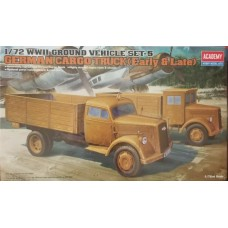[ACADEMY] German Cargo Truck (early & Late) 1/72