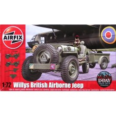 [AIRFIX] Willys British Airborne Jeep Escala 1/72