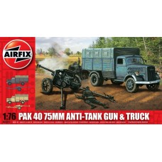[AIRFIX] PAK 40 75mm Anti-Tank Gun & Truck Escala 1/76