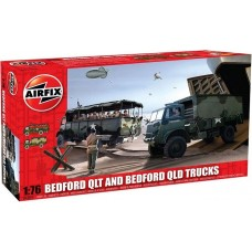 [AIRFIX] BedFord QLT and BedFord QLD Trucks Escala 1/76