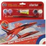 [AIRFIX] Starter Set RAF Red Arrows Gnat Escala 1/72
