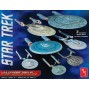 [AMT] Star Trek U.S.S Enterprise Model Set - 7 kits - Escala 1/2500