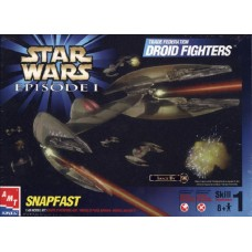 [AMT] Star Wars Episode I Trade Federation Droid Fighters Escala 1/48