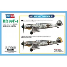[HOBBYBOSS] Messerschmitt Bf 109F-4 Escala 1/48