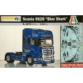 "[ITALERI] Scania R620 ""Blue Shark"" Escala 1/24"