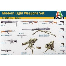 [ITALERI] Modern Light Weapons Set Escala 1/35