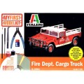 [ITALERI] My First Model Kit Fire Dept Cargo Truck Escala 1/35