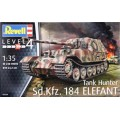 [REVELL] Tank Hunter Sd.Kfz. 184 Elefant Escala 1/35