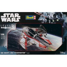 [REVELL] Star Wars Obi-Wan's Jedi Starfighter Escala 1/58