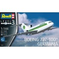 [REVELL] Boeng 727-100 Germania Escala 1/144
