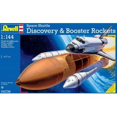 [REVELL] Space Shuttle Discovery & Booster Rockets Escala 1/144
