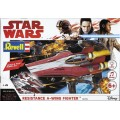[REVELL] Star Wars Resistance A-wing Fighter - Red Escala 1/44