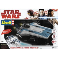 [REVELL] Star Wars Resistance A-wing Fighter - Blue Escala 1/44