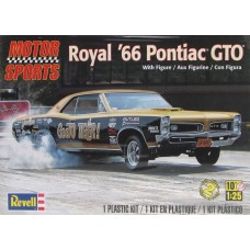 [REVELL] Motor Sports Royal '66 Pontiac GTO Escala 1/25