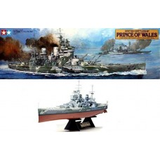 [TAMIYA] British Battleship Prince of Wales Escala 1/350
