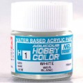 [GUNZE] Mr. Hobby Aqueous Hobby Color H1 White 10ml