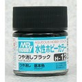 [GUNZE] Mr. Hobby Aqueous Hobby Color H12 Flat Black 10ml
