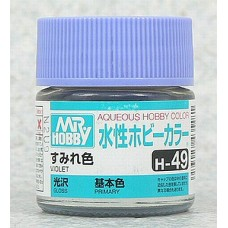 [GUNZE] Mr. Hobby Aqueous Hobby Color H49 Violet 10ml