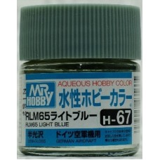 [GUNZE] Mr. Hobby Aqueous Hobby Color H67 RLM 65 Light Blue 10ml