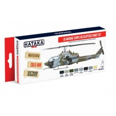 [HATAKA] AS14 US Marine Corps Helicopters Paint Set