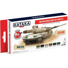 [HATAKA] AS84 Modern Danish Army AFV paint set