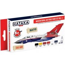 [HATAKA] AS85 Modern Royal Air Force paint set vol. 4
